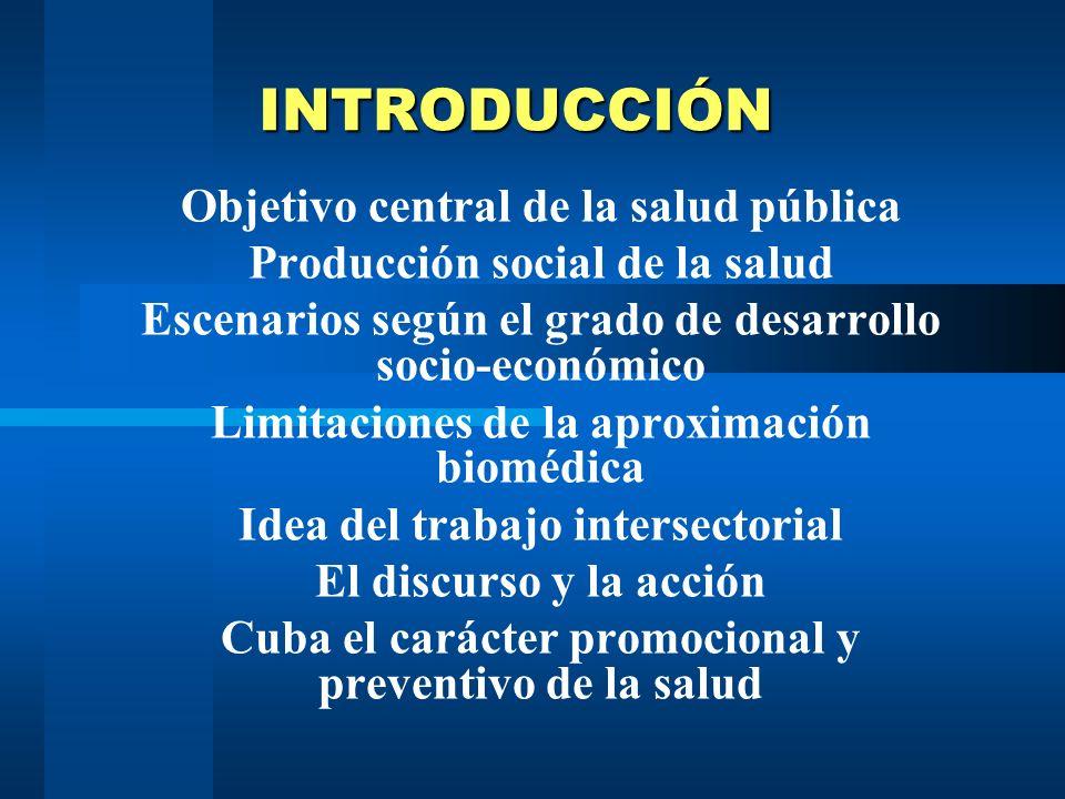 INTERSECTORIALIDAD Dr. Ivan Mora Diaz Jefe departamento UCCM Profesor Asistente MSc. Dra. Marta Álvarez Sáez. Profesora Auxiliar Facultad Dr. Miguel E