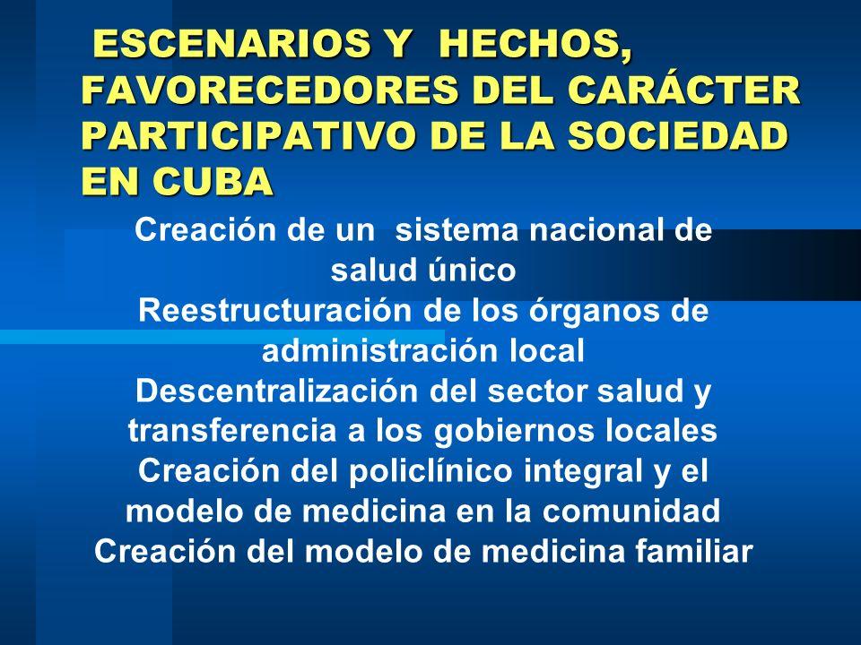 Lo que se puede lograr con la acción intersectorial 4) Extender la acción intersectorial hasta las instituciones de base donde se obtiene un mayor niv