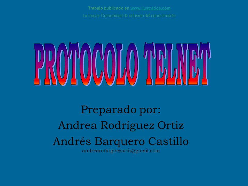 Preparado por: Andrea Rodríguez Ortiz Andrés Barquero Castillo andrearodriguezortiz@gmail.com Trabajo publicado en www.ilustrados.comwww.ilustrados.co