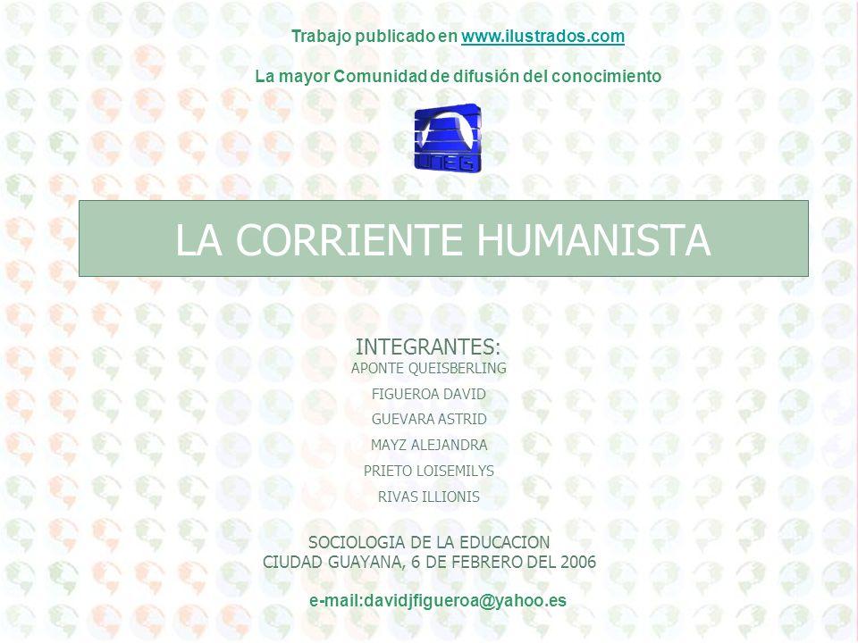 La Corriente Humanista en la Educacion, Grupo 7.32 Libertad de expresión.