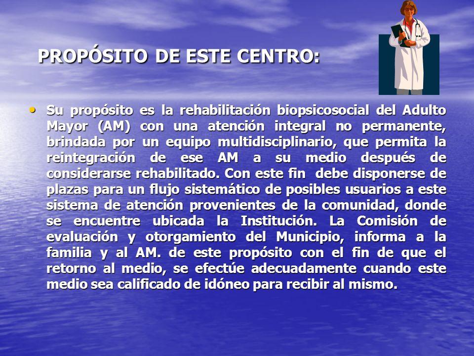 ASISTENCIA MEDICA Y TECNICA: ASISTENCIA MEDICA: Incluye consultas medicas de: _Geriatría.