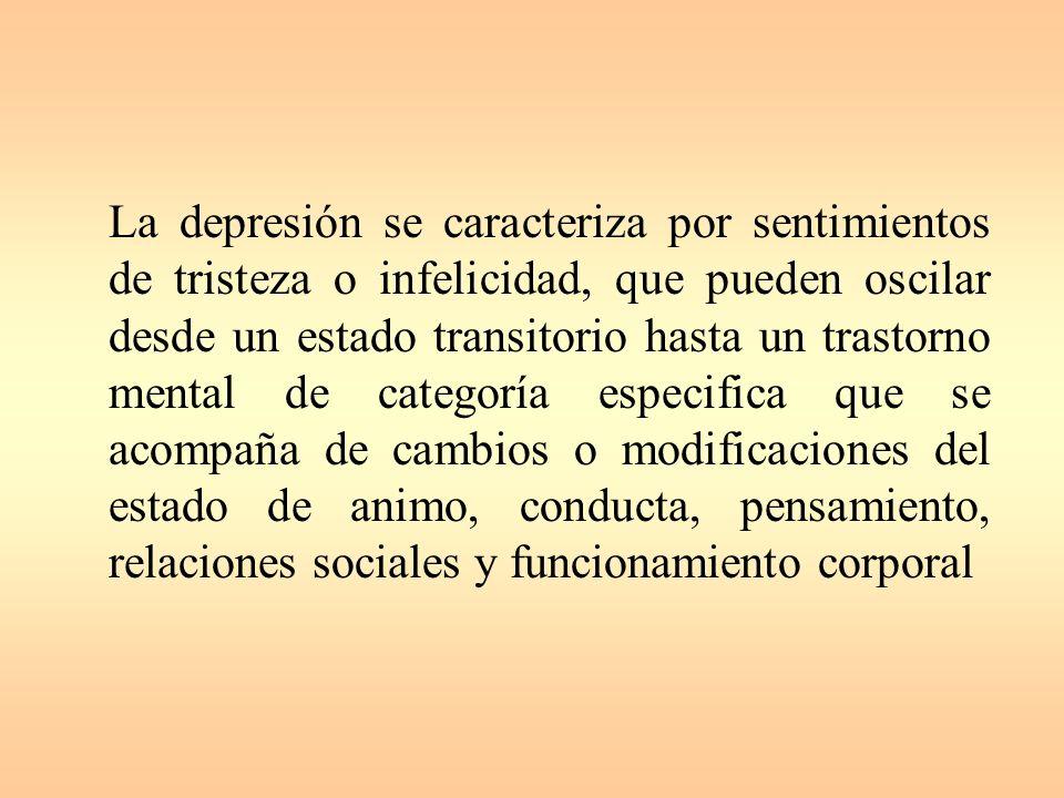 DEPRESIÒN EN LA INFANCIA Y EN LA ADOLESCENCIA Dr. Guillermo Barreto Ramírez. Especialista en Psiquiatría Infantil Dra. Olga Lien león Quindemil. Espec