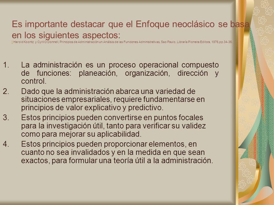 6.4.- En cuanto a las relaciones El número de subordinados que un individuo puede supervisar con Eficiencia tiene un limite.