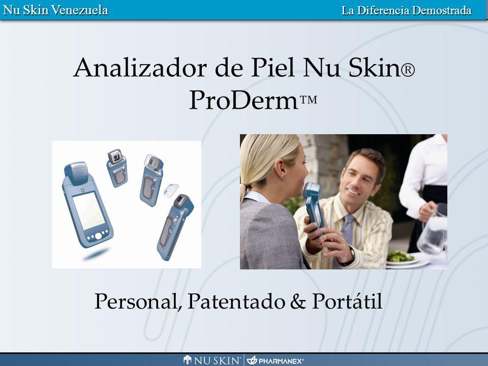 3 5 6 1 2 3 5 6 4 Decoloración Líneas y Arrugas Textura Tamaño del Poro Atributos Clave Nu Skin Venezuela La Diferencia Demostrada