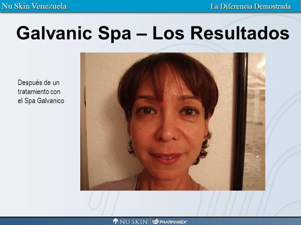Galvanic Spa – Los Resultados Nu Skin Venezuela La Diferencia Demostrada