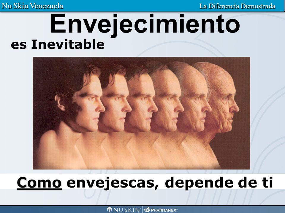Algunos envejecen elegantemente Nu Skin Venezuela La Diferencia Demostrada