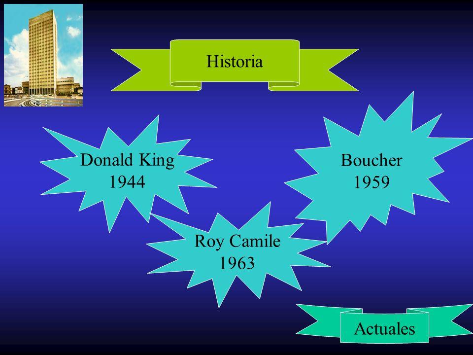 Donald King 1944 Boucher 1959 Historia Actuales Roy Camile 1963