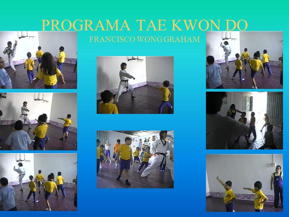 PROGRAMA TAE KWON DO FRANCISCO WONG GRAHAM