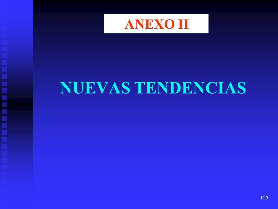 115 NUEVAS TENDENCIAS ANEXO II