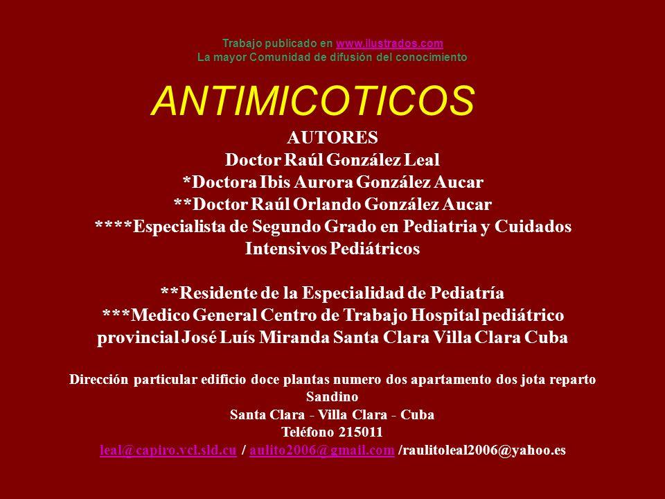 AUTORES Doctor Raúl González Leal *Doctora Ibis Aurora González Aucar **Doctor Raúl Orlando González Aucar ****Especialista de Segundo Grado en Pediat