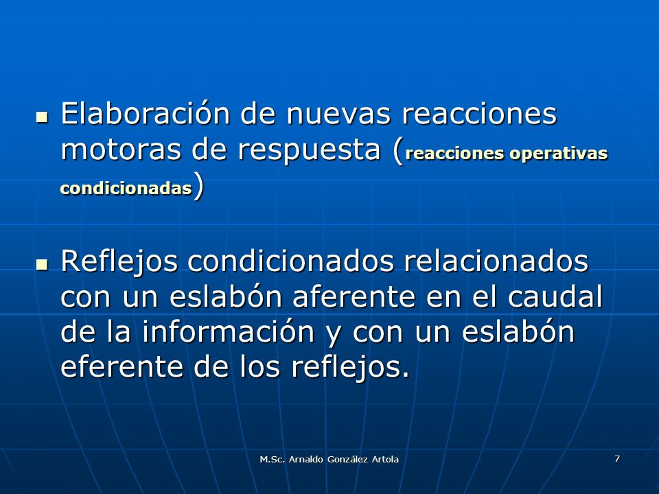 M.Sc.Arnaldo González Artola 18 2. Forma de la intervención.