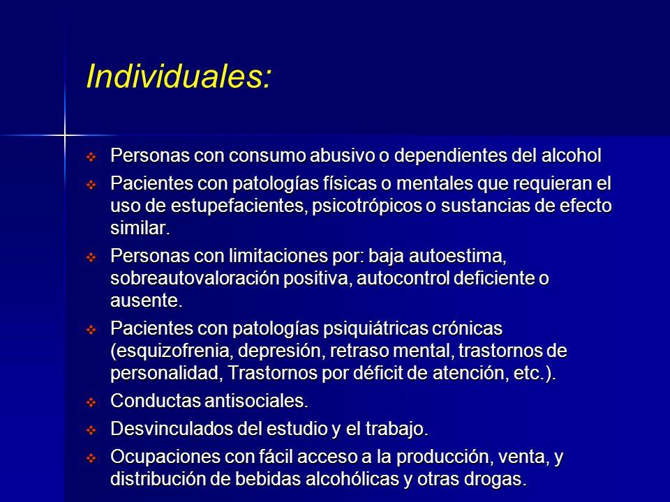 FACTORES DE RIESGO Condiciones biológicas, psicológicas o sociales que son capaces de aumentar la probabilidad de provocar daño o enfermedad. Para la