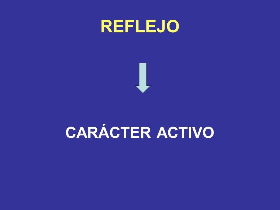 REFLEJO CARÁCTER ACTIVO