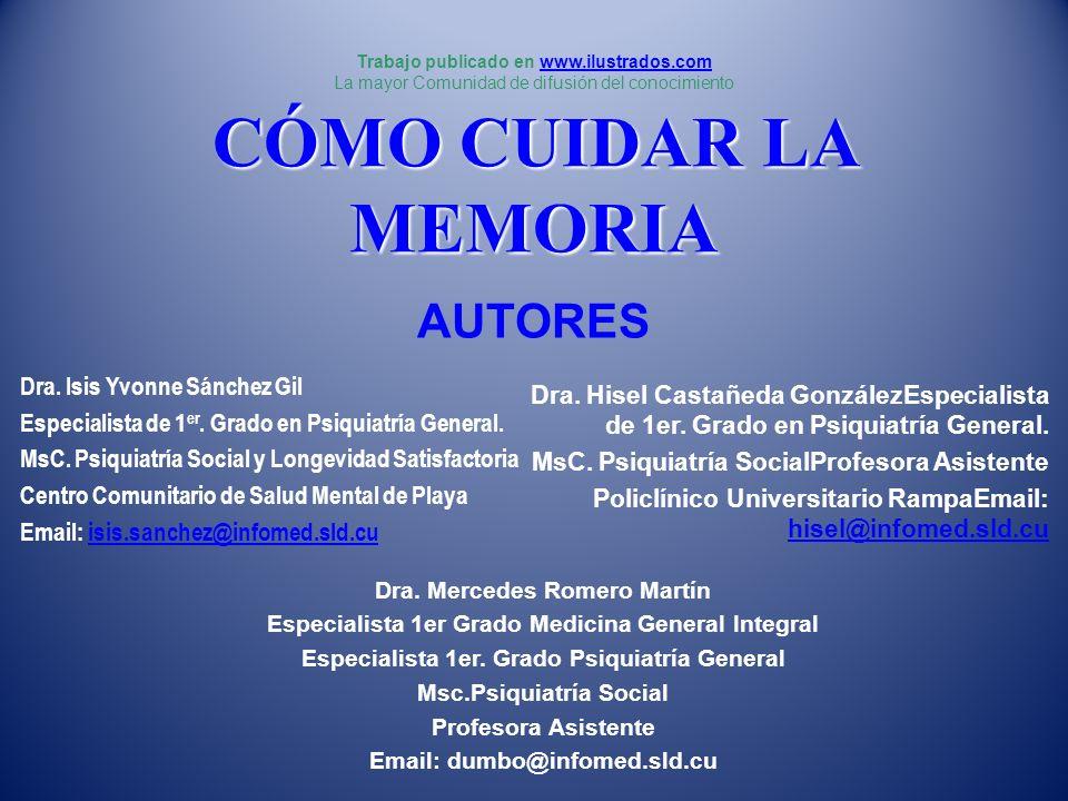 BIBLIOGRAFÍA CONSULTADA 19.Friedland RP: Epidemiology, education and ecology of Alzheimer´s disease.