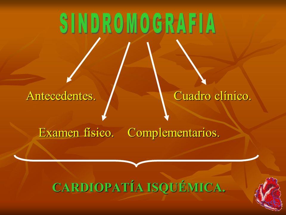 Dolores torácicos: 1)Aneurisma disecante.2)Pericarditis.