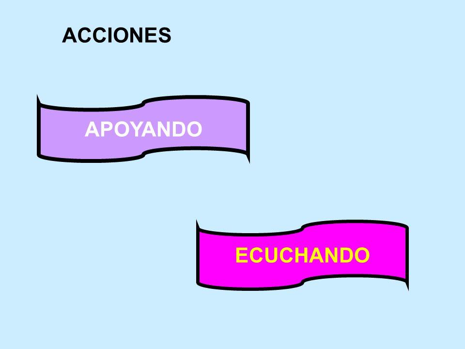 APOYANDO ECUCHANDO ACCIONES