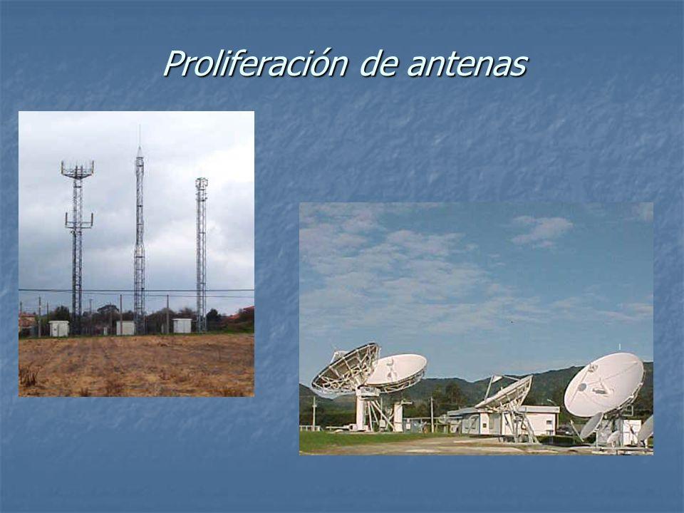 Proliferación de antenas