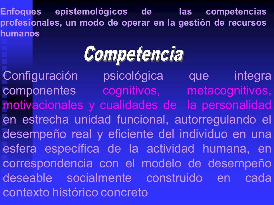 Configuración psicológica que integra componentes cognitivos, metacognitivos, motivacionales y cualidades de la personalidad en estrecha unidad funcio
