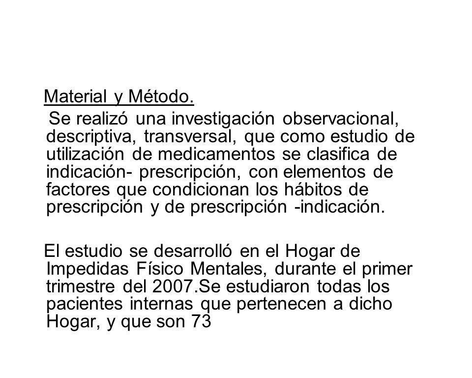 TABLA No 8 PRESCRIPTOR Y NUMERO DE PRESCRIPCIONES POR ESPECIALIDADES AÑO 2007 PRESCRIPTOR POR ESPECIALIDADES NO.