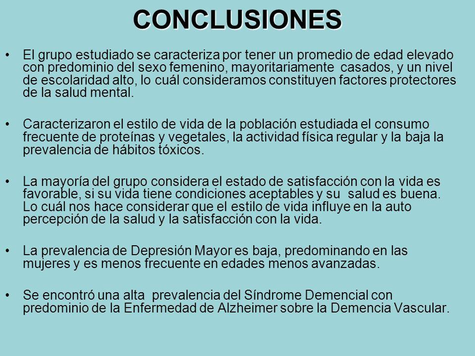 Tabla 10 Distribución de los pacientes con Síndrome Demencial de acuerdo a su etiología. Población estudiada Policlínico Ana Betancourt 2004 - 2006 Ti