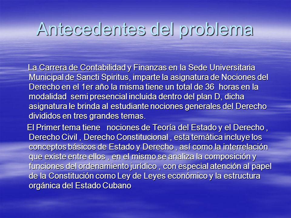 Acciones Didácticas para perfeccionar la preparación jurídica de los estudiantes de la carrera Contabilidad y Finanzas de la S.U.M Msc Dagne Torres Aq