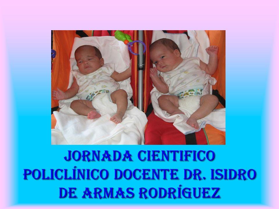 Comportamiento Clínico -epidemiológico del embarazo gemelar en el policlínico Isidro de Armas Período: Agosto 2006-Nov 2007