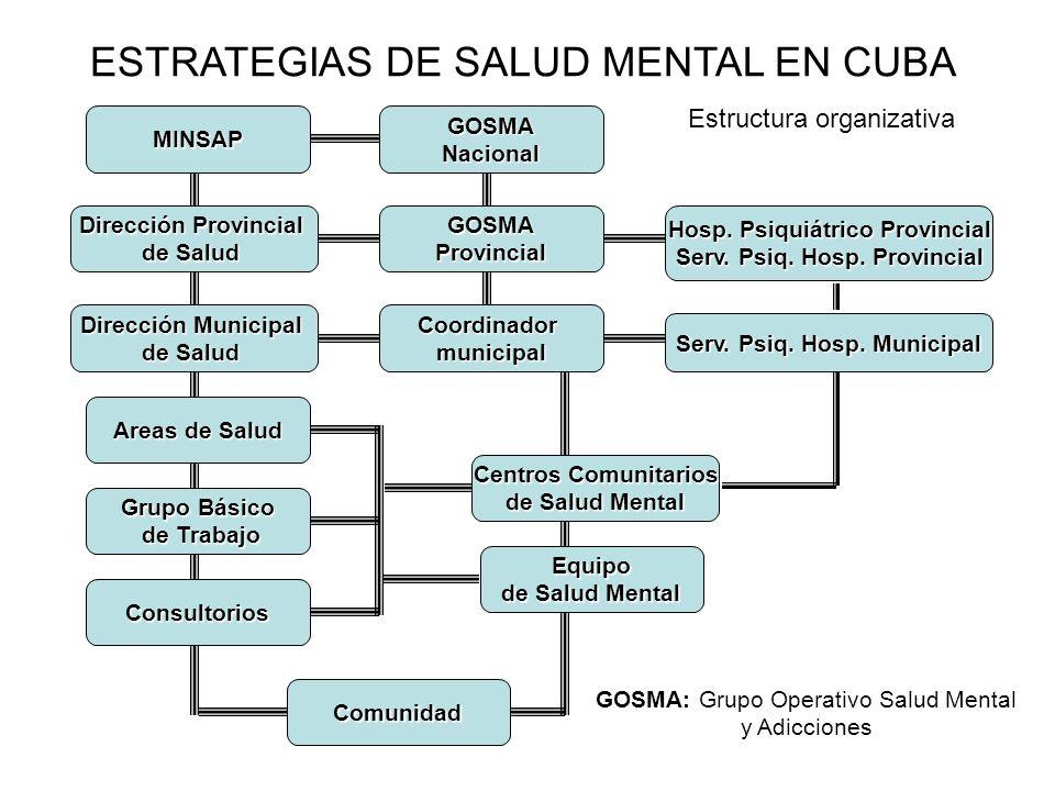 Programa CCSM.Investigación Estudios epidemiológicos sobre la prevalencia del Síndrome Demencial.
