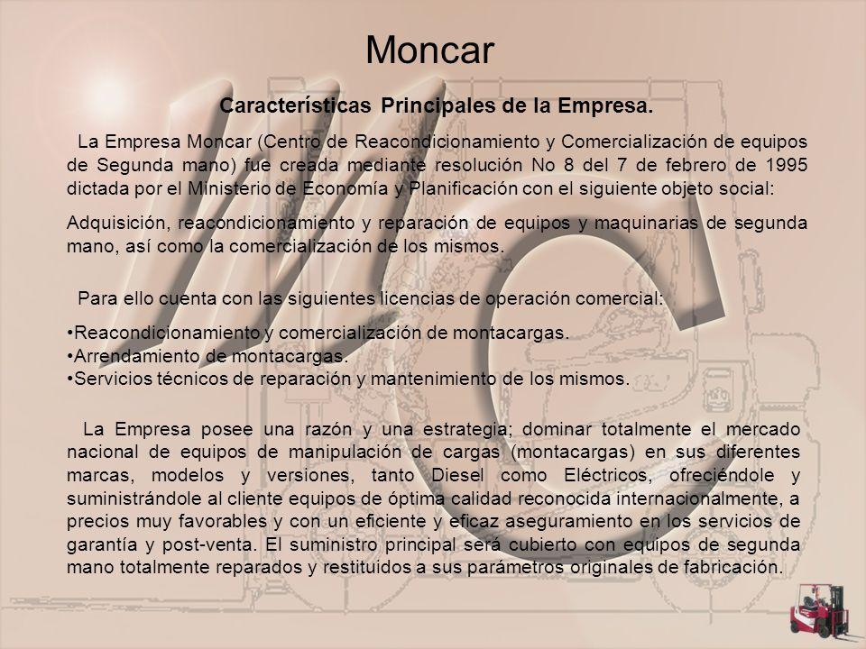 Características Principales de la Empresa.