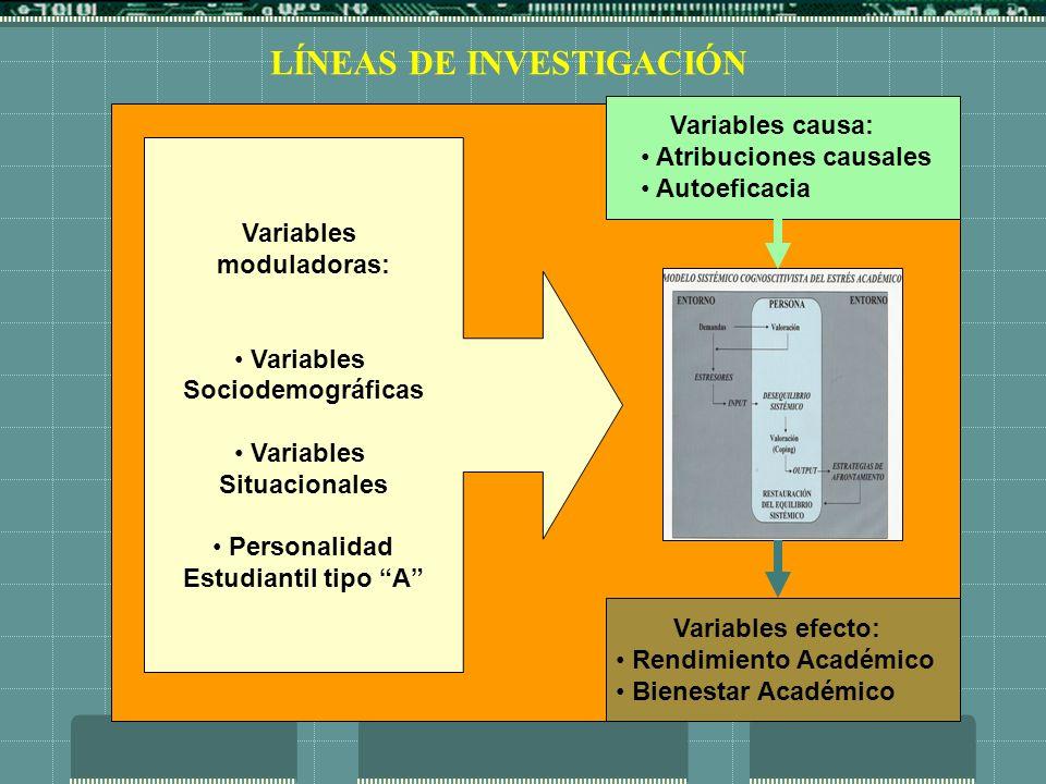 EJES DE INDAGACIÓN EMPÍRICA Medición multinivel del estrés académico.