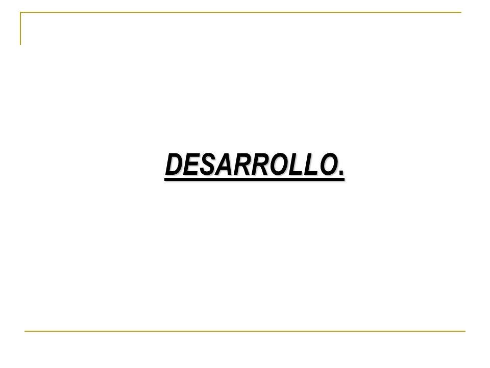 DESARROLLO.