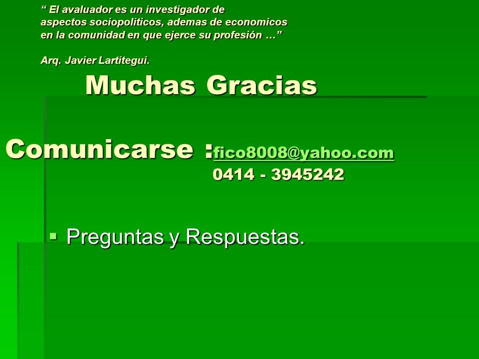 Muchas Gracias Comunicarse : fico8008@yahoo.com 0414 - 3945242 Muchas Gracias Comunicarse : fico8008@yahoo.com 0414 - 3945242 fico8008@yahoo.com fico8