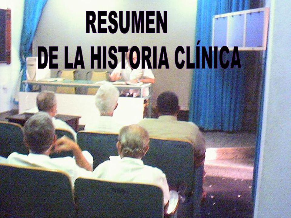 RESUMEN DE LA HISTORIA CLÍNICA: A.H.C.