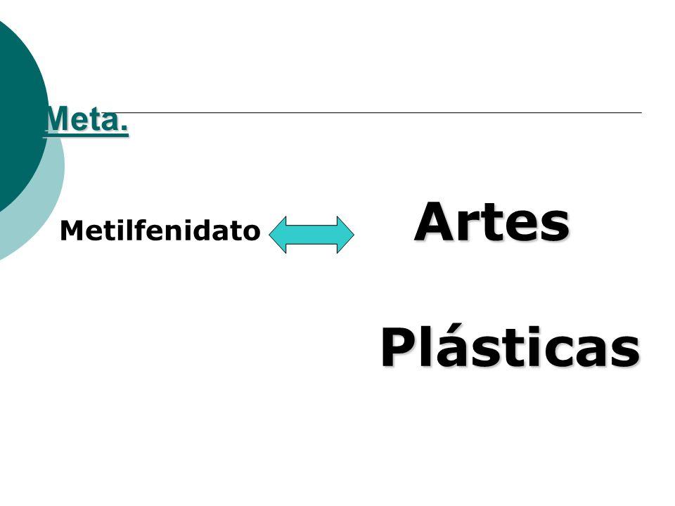 Meta. Artes Plásticas Metilfenidato Artes Plásticas