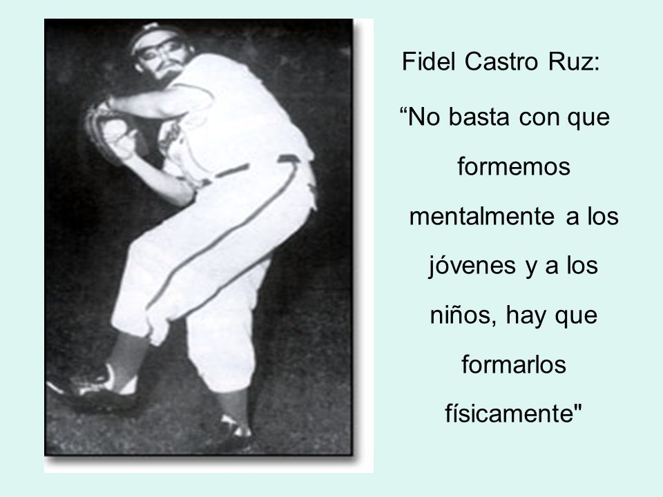 José Martí Pérez A los niños (...) es preciso robustecerles el cuerpo a medida que se les robustece el espíritu (...)