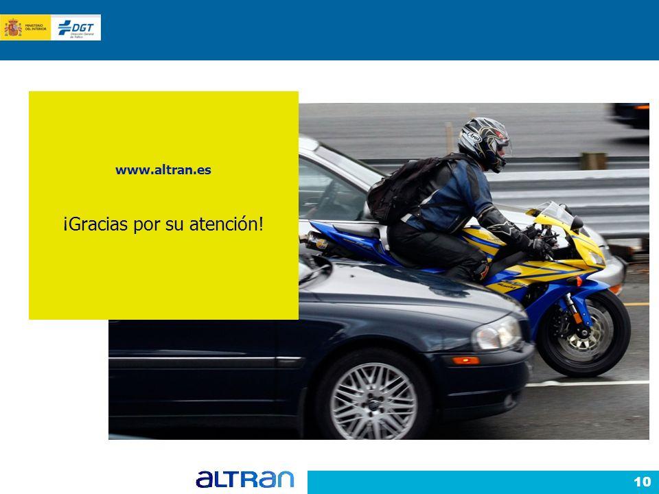 10 www.altran.es ¡Gracias por su atención!