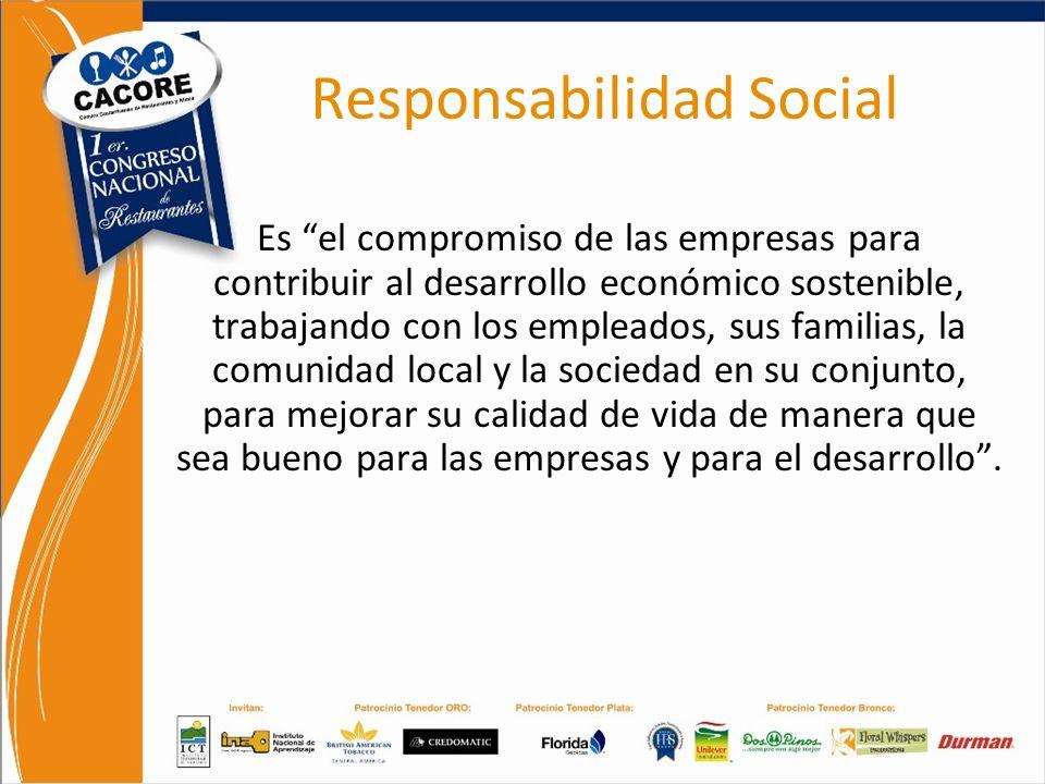 Análisis FODA Responsabilidad Social Empresarial y Regulaciones Responsabilidad Social Es el compromiso de las empresas para contribuir al desarrollo