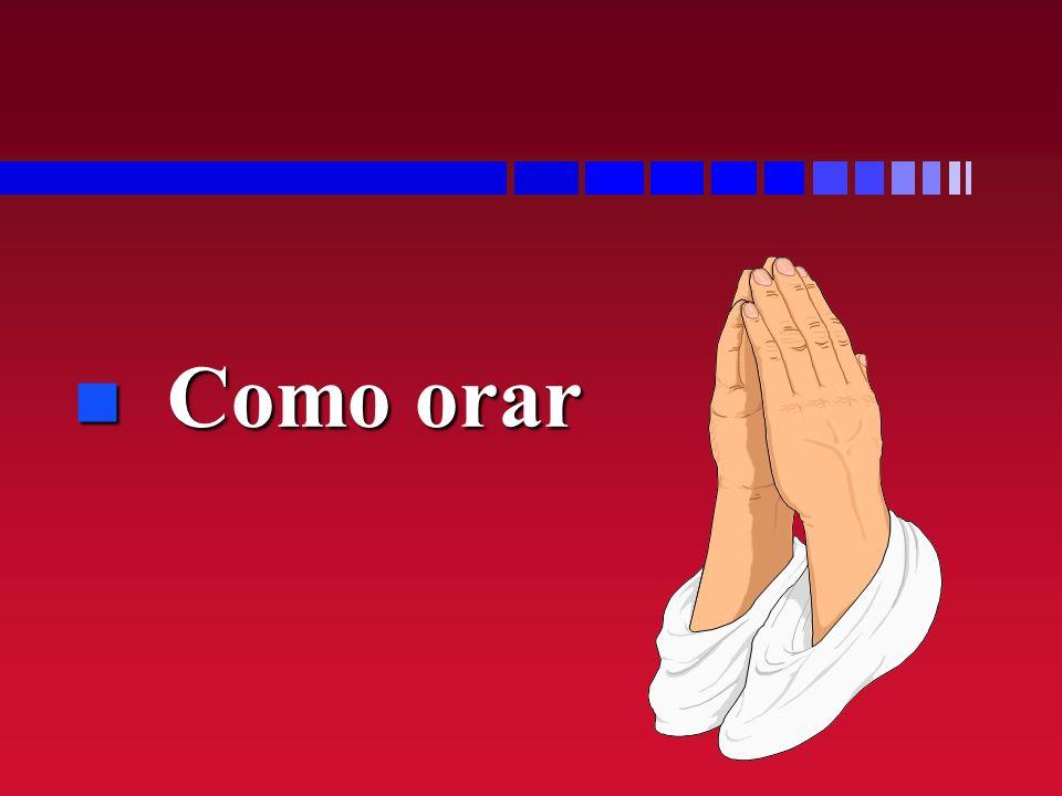 n Como orar