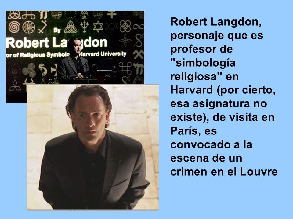 Robert Langdon, personaje que es profesor de