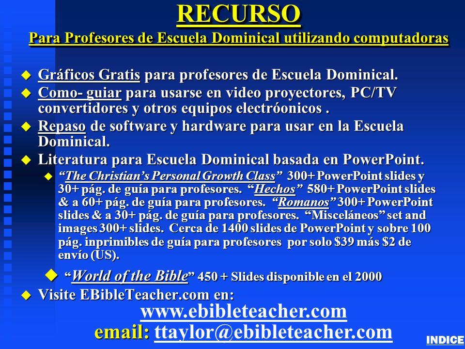 RECURSO Para Profesores de Escuela Dominical utilizando computadoras u Gráficos Gratis para profesores de Escuela Dominical. Gráficos Gratis Gráficos