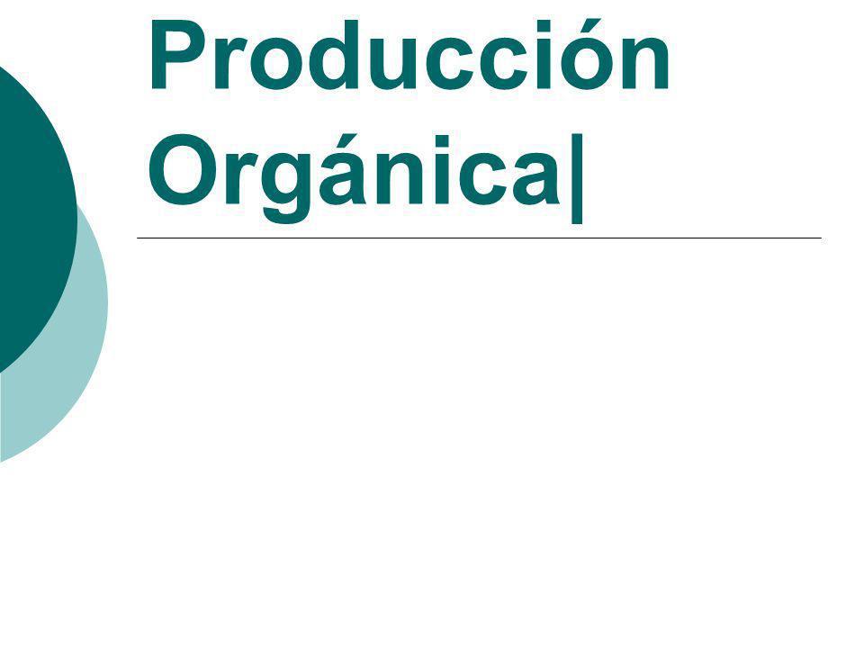 Producción Orgánica|
