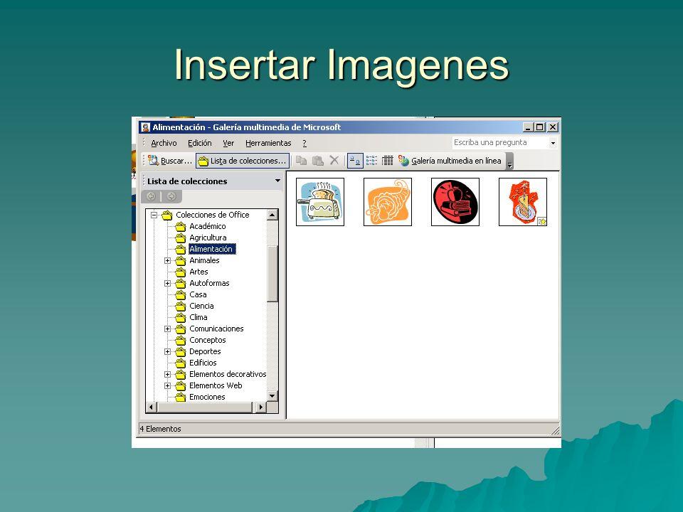 Insertar Imagenes