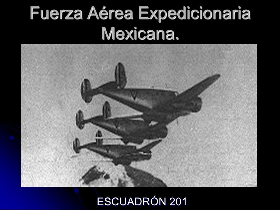 Fuerza Aérea Expedicionaria Mexicana. ESCUADRÓN 201