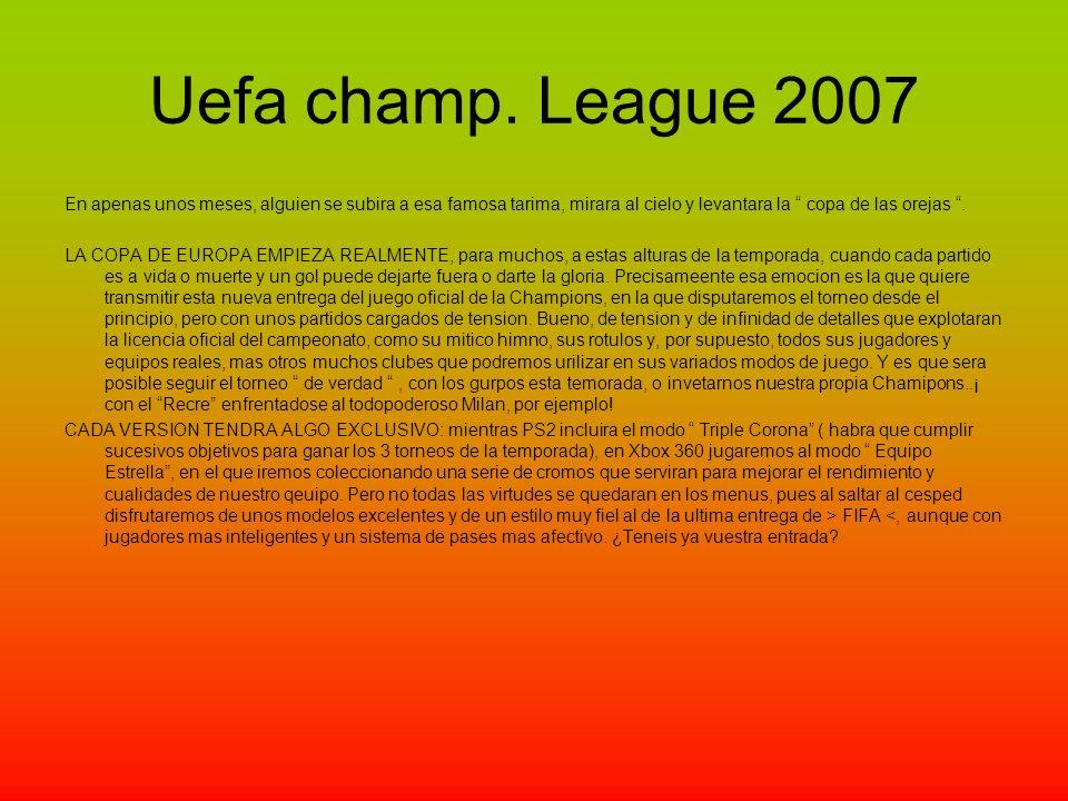 Uefa champ.