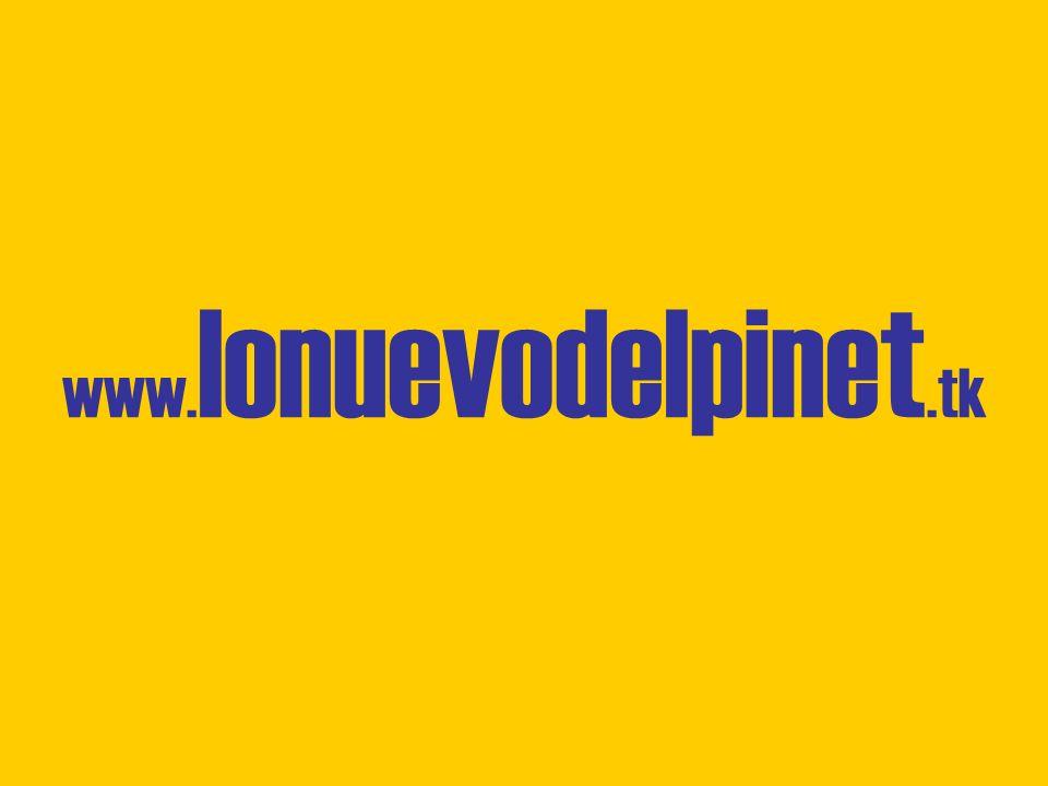 www. lonuevodelpinet.tk
