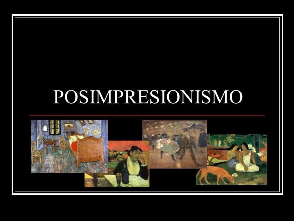 Artistas principales Paul Cézanne (1839-1906), Vincent van Gogh (1853-1890), Paul Gauguin (1848- 1903), Henri de Toulouse-Lautrec (1864- 1901) y el suizo Ferdinand Hodler (1853- 1918).