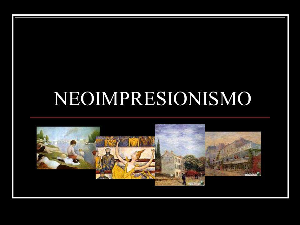 Artistas principales Georges-Pierre Seurat (1859-1891) y Paul Signac (1863-1935).