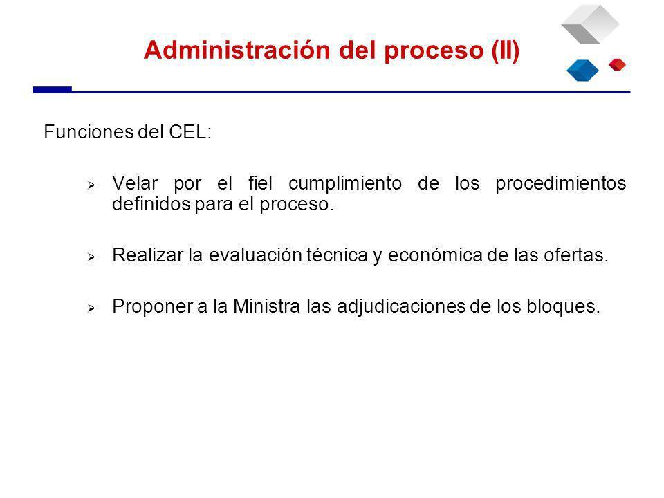 Funciones del CEL: Velar por el fiel cumplimiento de los procedimientos definidos para el proceso.
