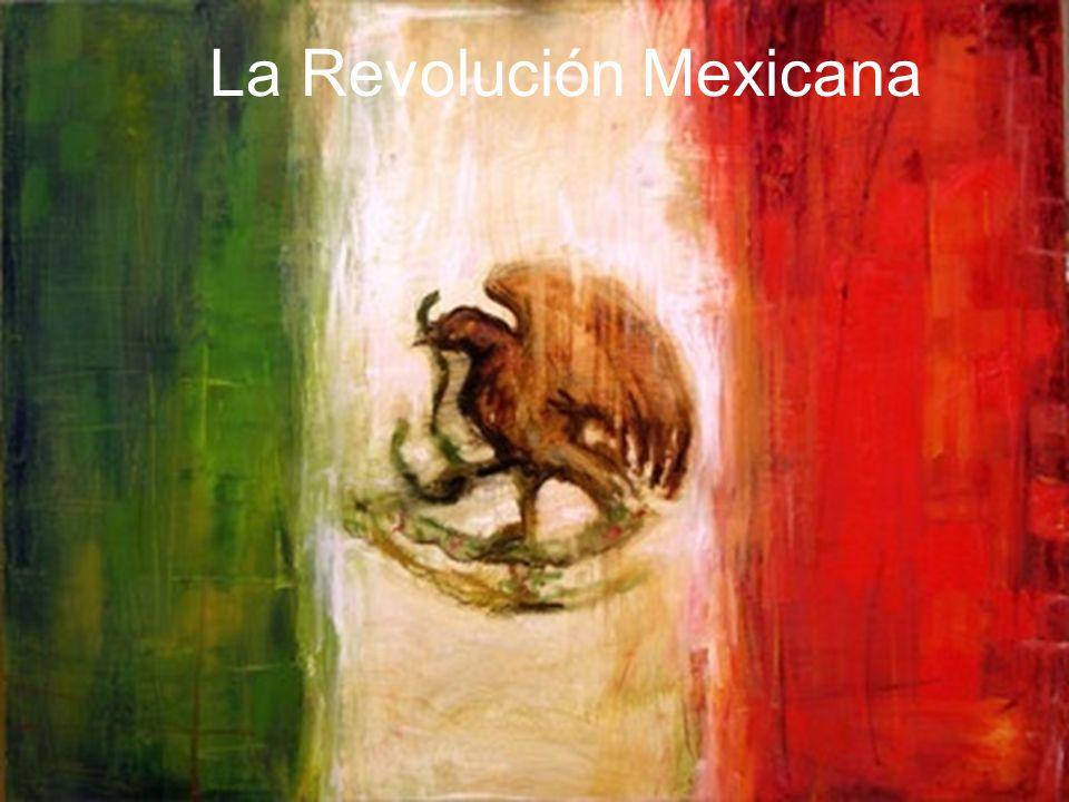 La Revolución Mexicana fue la primera revolución social de 1910 a 1920.