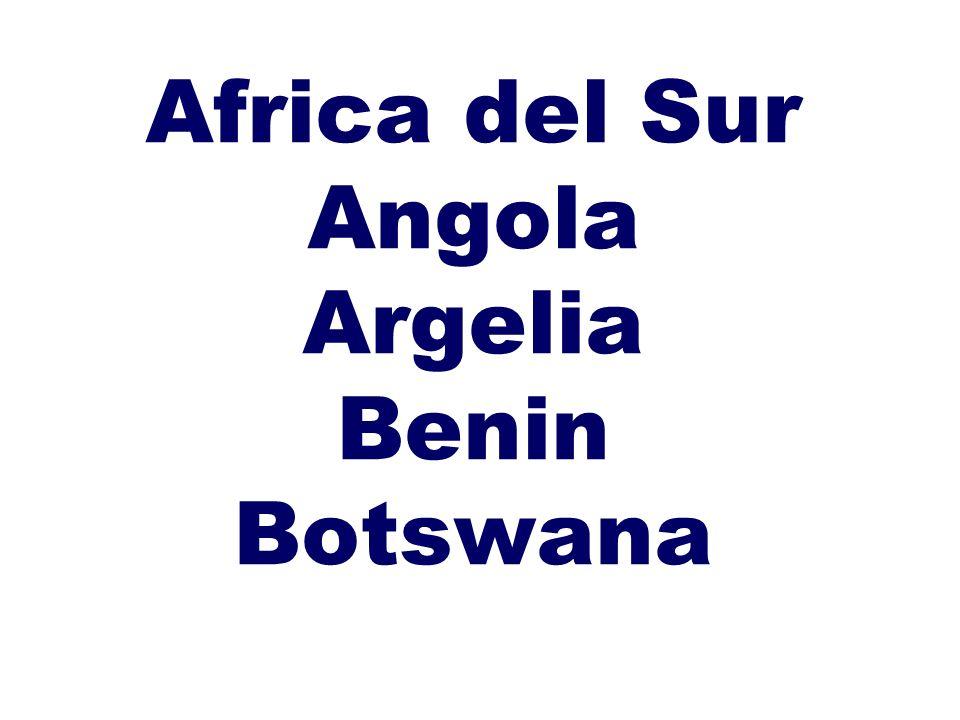 Burkina Faso Burundi Camerun Cape Verde Chad