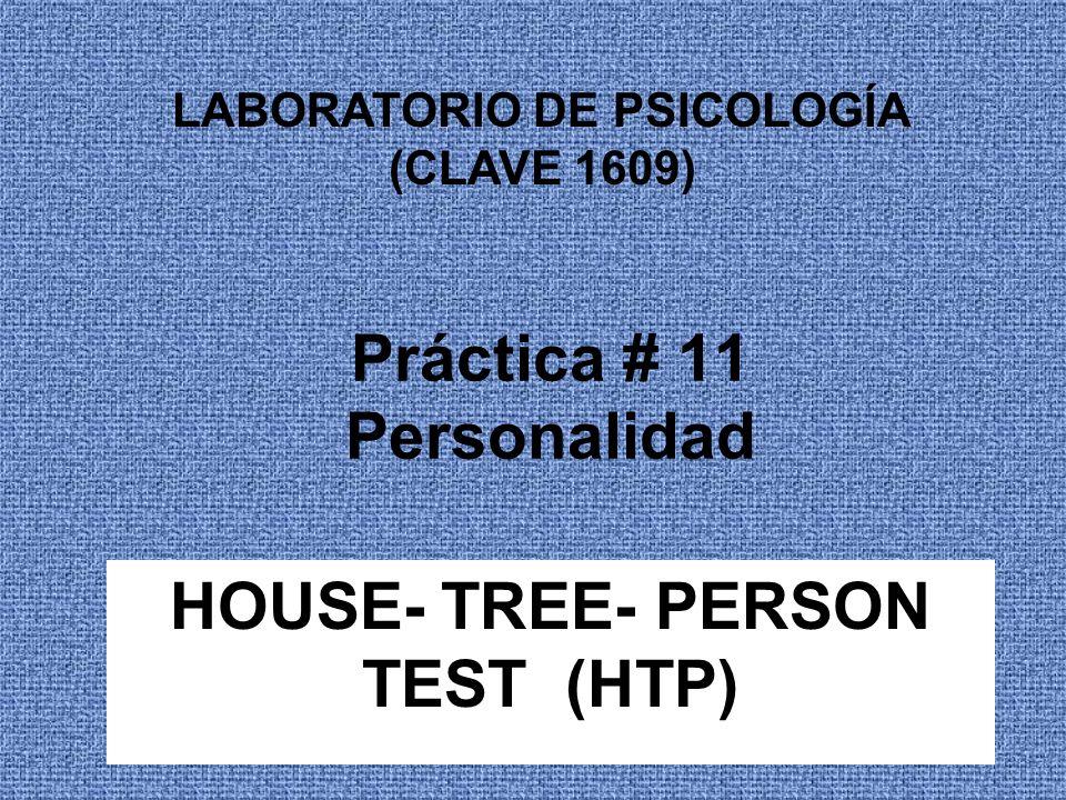 Prueba casa- árbol- persona (HTP) Es un test proyectivo basado en la técnica gráfica del dibujo, a través del cual podemos realizar una evaluación global de la personalidad de la persona, su estado de ánimo, emocional, etc.